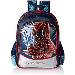 Spiderman 40 litres Blue Children's Backpack (St-Asgs-2009-16)