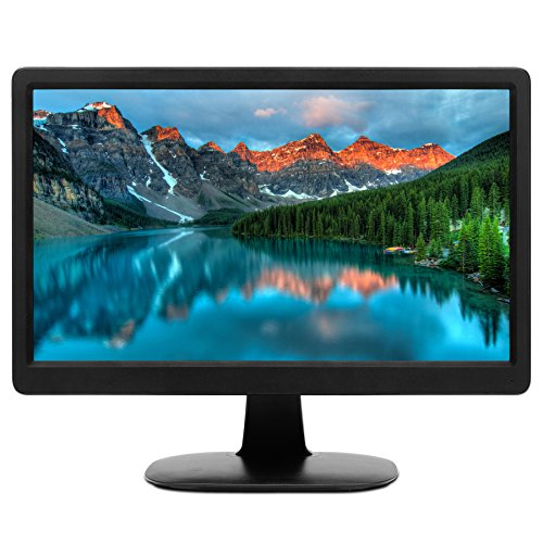 HKC MR16S 15,6 Zoll (39,6 cm) LED-Monitor, FHD 1920 x 1080, 16: 9, HDMI, VGA – Schwarz