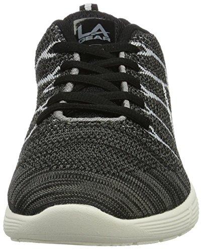 L.A. Gear Pacific Low, chaussons d'intérieur femme Noir (noir/grey)