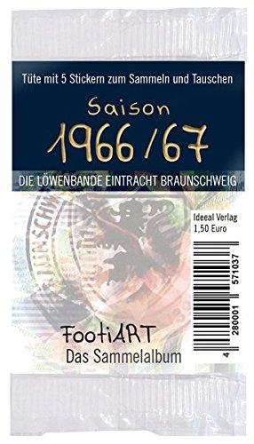 Stickertüte 1966/67 Eintracht Braunschweig