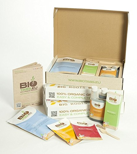 Dünger Kit Starter Box 100% Organisch BioTabs -