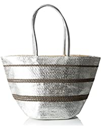 Womens Cabas Paille Tressée Top-Handle Bag Molly Bracken suN8ojunR7