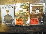 3 tomes Mémoires de guerre - De Gaulle