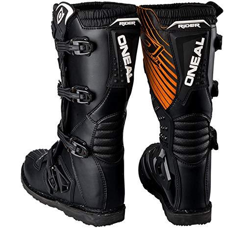 O'Neal Rider Boot MX Stiefel Schwarz Moto Cross Motorrad Enduro Boots, 0329-1, Größe 44 - 5