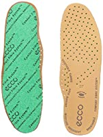 Ecco Womens' Ladies Cfs Leather Insoles, Brown (Lion), 2.5 UK