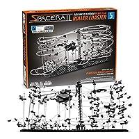 CKB LTD SpaceRail Perpetual Rollercoaster Level 5 - Marble Roller Coaster Run DIY Track Build Kit Space Rail Track Run Construction Gadget
