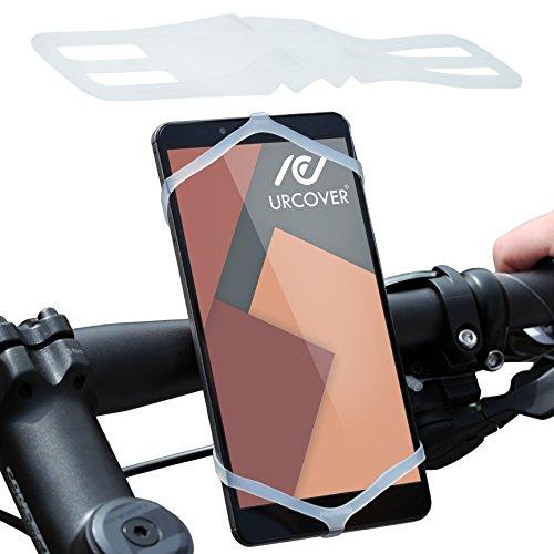 urcoverr-supporto-manubrio-smartphone-bicicletta-moto-universale-poliuretano-bianco-sport-outdoor-mo