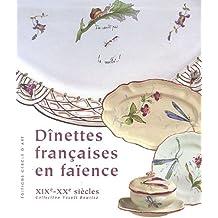 Dînettes françaises en faïence XIXe - XXe siècles, Coffret en 2 volumes