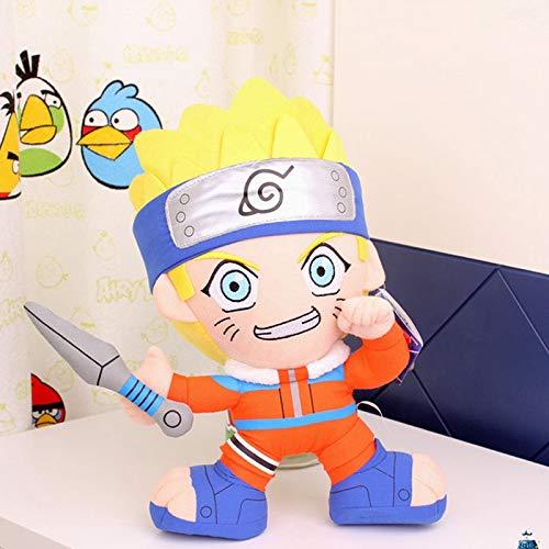 xuritaotao 30 cm Anime Naruto Uzumaki Naruto Plüschtier Kindheit Uzumaki Naruto Plüsch Puppe Weiche Stofftiere Für Kinder Kinder (Naruto Plüsch-puppen)