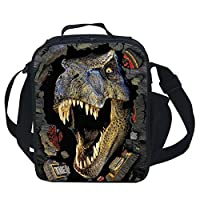 CAIWEI 3D Animal Dinosaur Insulated Lunch Box Cooler Bag ...