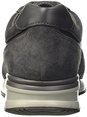 Geox U Dennie B, Baskets Basses Homme Grau (DK GREYC9002)