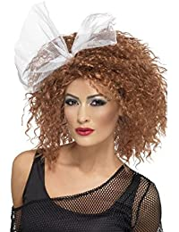 Smiffys Womens Wild Child Back To The 80s Fancy Dress Wig Accessory
