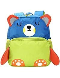 Preisvergleich für GWELL Süß 3D Bär Babyrucksack Kindergartenrucksack Kleinkind Kinder Rucksack Mädchen Jungen Backpack Schultasche