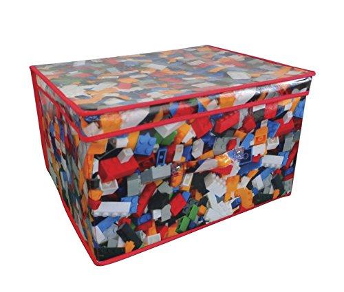 Country Club Jumbo Storage Chest  Bricks Design  50 x 40 x 30cm