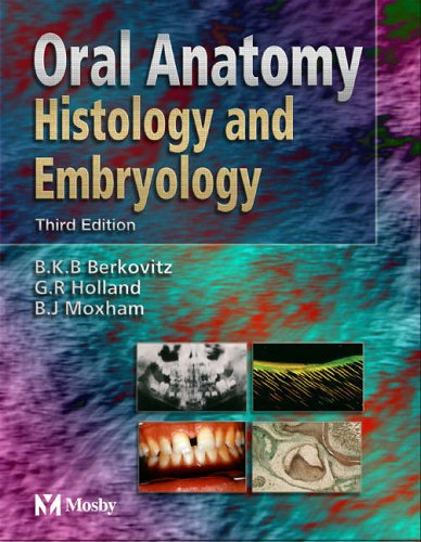 Oral Anatomy Histology And Embryology Pdf