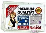 Neusu Premium Vakuum-Aufbewahrungsbeutel, 80 Mikron, Mittelgroß 70x50cm, 10 Pack