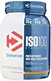 Dymatize Nutrition Iso 100 Hydrolyzed, 100% Whey Protein Isolate - 725 g (Peanut Butter)