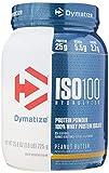 Dymatize Nutrition Iso 100 Hydrolyzed, 100% Whey Protein Isolate - 725 g