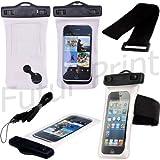 Custodia impermeabile Waterproof specifico per Apple iPhone 5 5G 5C 5S cover subacquea nuoto...