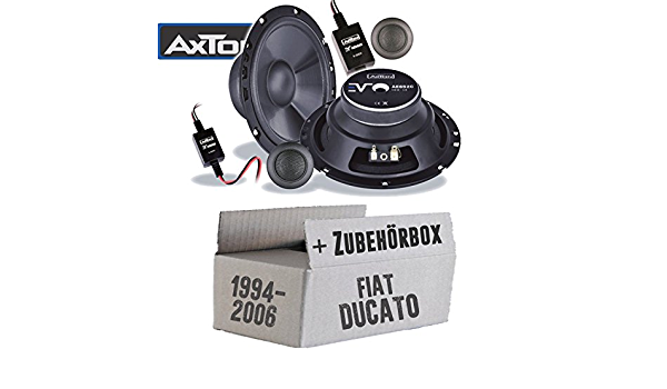 Fiat Ducato 230 244 Front Loudspeaker Boxes Axton Ae652 C Car 16 Cm Mounting Accessories Mounting Kit Navigation Car Hifi