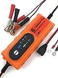 EMD - Optimus Pro - Chargeur Mainteneur Automatique, Intelligent 6V /12 V - 4.2 A - Batteries (WET, MF, AGM et GEL) - Auto, Moto, Quad, Buggy..- Garantie 2 ans