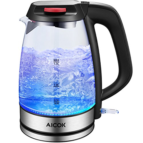 Aicok Glass Electric Kettle 3000...