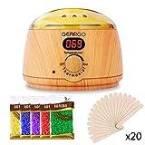GEARGO Wachswärmer mit LCD-Display Wax Electric Waxing Kit, 500ml Einstellbare Temperatur...