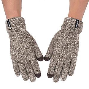 Unbekannt XIAOYAN Handschuhe Handschuhe Männer Outdoor Reiten Warme Winter Touchscreen Kompatibel Vollfinger 5 Farben Optional Bequem