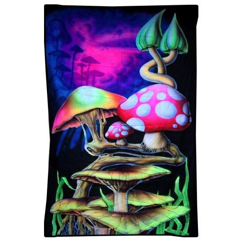 PANASIAM Backdrop-Psychedelic art, Size 2m x 1,2m, (airbrush_0034_95) (Arten Von Goa)