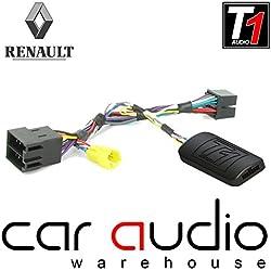 T1Audio - Adaptateur pour interface de commande au volant avec jeu de câbles T1-RN5