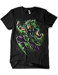 Camisetas La Colmena 4013-Broly Attack Splatter - Goku-Dragon Ball  (albertocubatas) 1cdfdbffca098