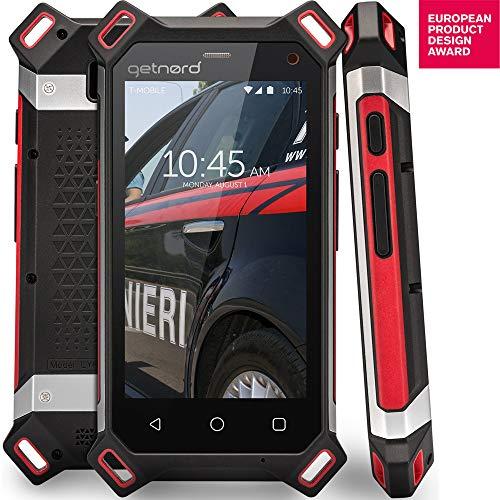 getnord Lynx Robustes Smartphone, IP68, Stoßfest, Wasserdicht, Stärkster 1, 8-mm-Display, 6000mAh, Drahtlose Aufladung -