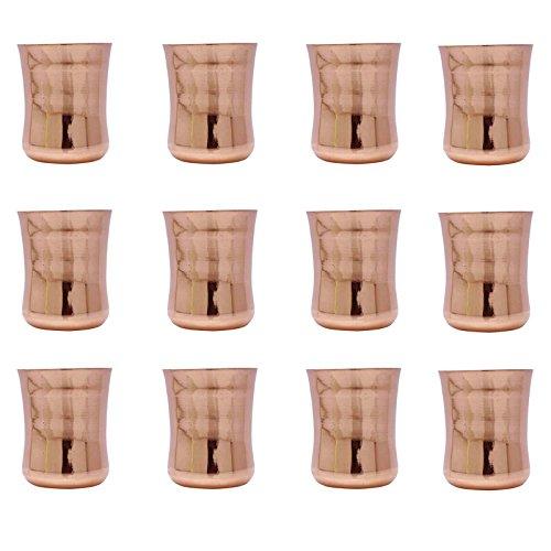 12 Stück Traditionelle Glasbecher Glaswaren Geschirr Glas Geschirr