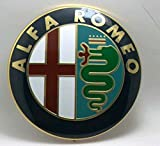 ALFA ROMEO frontgrills ODER Kuhlergrills ODER Heckklappe logo emblem GIULIETTA 159 MITO 147 GT 74mm Modellzeichen zum überkleben