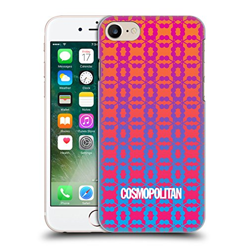 Official Cosmopolitan Ombre 6 Fun Summer Hard Back Case for Apple iPhone X Ombre 9
