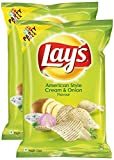 #10: More Combo - Lays Potato Chips - American Style Cream & Onion Flavour (Party), 177g (Pack of 2) Promo Pack