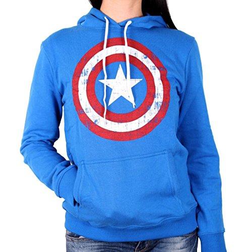 Captain america - Avengers Damen Premium Kapuenpullover - -