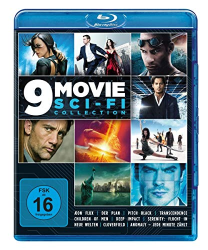 9 Movie Sci-Fi Collection [Blu-ray]