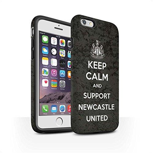 Offiziell Newcastle United FC Hülle / Matte Harten Stoßfest Case für Apple iPhone 6S / Pack 7pcs Muster / NUFC Keep Calm Kollektion Unterstützung