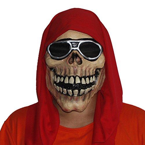 Mascara terror calavera rockera disfraces, moteros, fiestas....de OPEN BUY