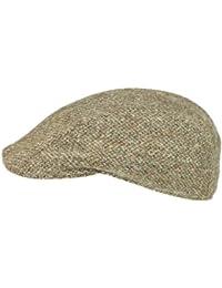 Rassow Macario Flatcap Schirmmütze aus Schurwolle - braun