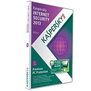 Kaspersky Internet Security 2013 (3 PC & 1 Smartphone & 1 Tablet, 1 Year subscriptions)