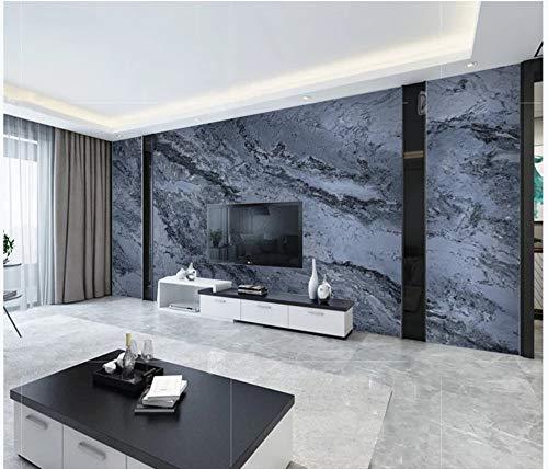 Apoart 3D Wandtapete Tinte Blaue Steinplatte 350Cmx245Cm - 350 Tinte