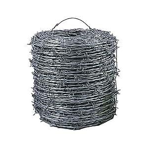 FS Bobine de fil barbelé galvanisé 2,5 mm x 200 m