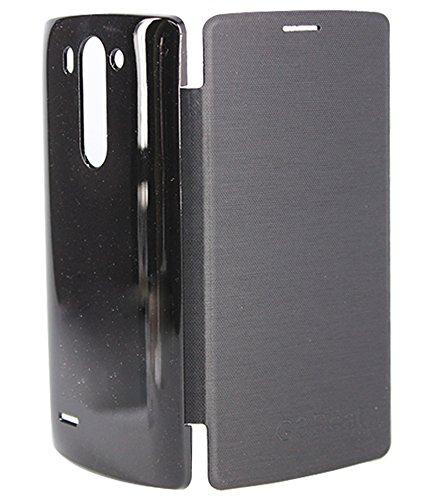 DMG Flip Book Cover Case for LG G3 Beat LG D722 (Black)