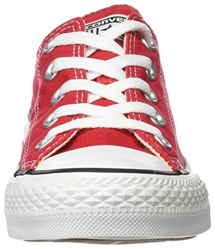 Sneakers di tela Converse All Star ox Rosso