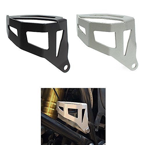Moto alluminio freno posteriore serbatoio liquido Protector cover for 2013 & Up BMW R 1200 GS ADV Adventure raffreddato ad acqua Model 2014 2015 2016 13 14 15 16, nero