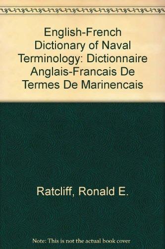 Dictionnaire anglais-français des termes de marine par Ronald Ratcliff