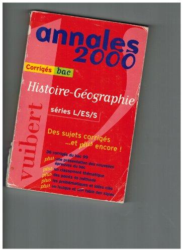 Histoire-Géographie, numéro 49. Corrigés par Collectif, Guillaume Dumont, Roger Revuz