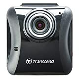Transcend TS16GDP100M DrivePro 100 Autokamera inkl. 16GB microSDHC Speicherkarte und Saugnapfhalterung (Full HD, 6,1 cm (2,4 Zoll) Farbdisplay) schwarz